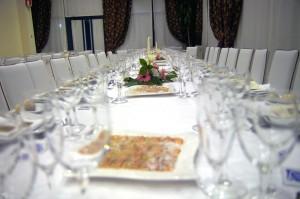 Mesa de boda Hotel Principal de Gandia