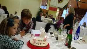 Cumpleaños en el hotel