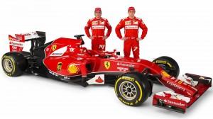 coche formula 1 ferrari en gandia